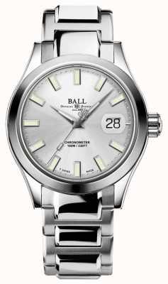 Ball Watch Company Inżynier mężczyzn III Auto   edycja limitowana   srebrna tarcza NM2026C-S27C-SL
