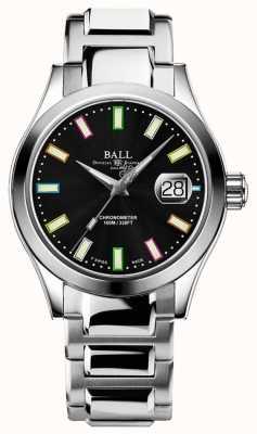 Ball Watch Company Wydanie opiekuńcze | inżynier iii auto | edycja limitowana | czarna tarcza | wielo NM2026C-S28C-BK