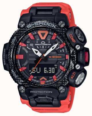 Casio G-shock | gravitymaster | rdzeń węglowy | bluetooth | Pomarańczowy GR-B200-1A9ER