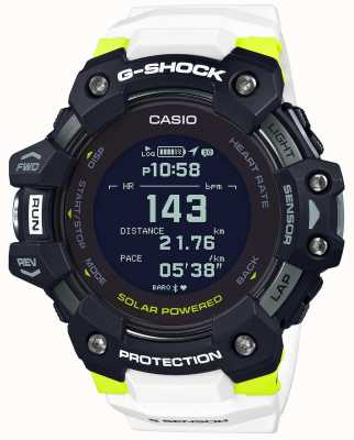 Casio G-shock | g-squad | monitor pracy serca | bluetooth | biały | GBD-H1000-1A7ER