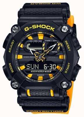 Casio G-shock | wydanie ltd | ciężkie | czas światowy | żółty GA-900A-1A9ER