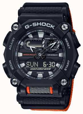 Casio G-shock | wydanie ltd | ciężkie | czas światowy | Pomarańczowy GA-900C-1A4ER
