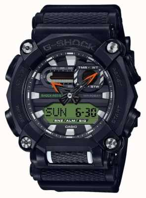 Casio G-shock | wydanie ltd | ciężkie | czas światowy | czarny GA-900E-1A3ER