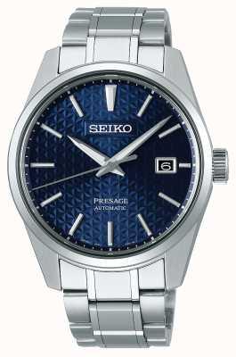 Seiko Zapowiedź | męskie | niebieski | dzień | stal nierdzewna | zegarek SPB167J1