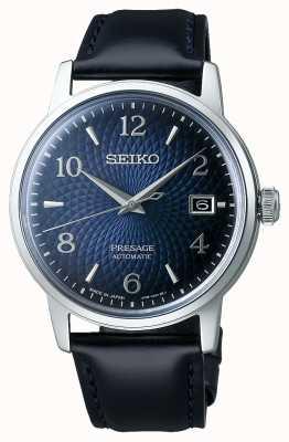 Seiko Zapowiedź | koktajl | niebieska tarcza | automatyczne | stary zegar SRPE43J1