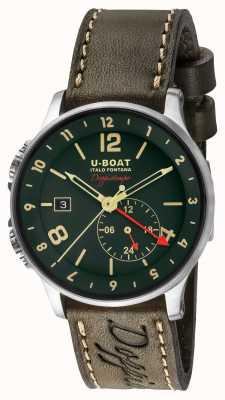 U-Boat 1938 Doppiotempo podwójna zielona tarcza 8500