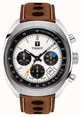 Męski Tissot Brown Automatic Heritage 1973 T1244271603101