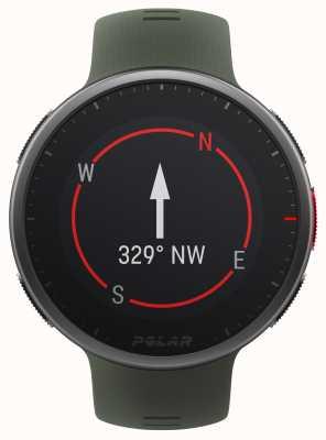 Polar | vantage v2 premium | zegarek multisport | czarny / zielony | 90083653