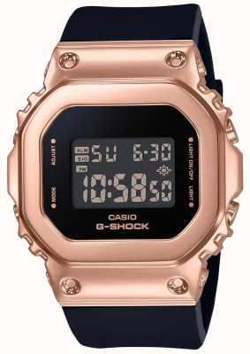 Casio Kompaktowy zegarek G-Shock w kolorze różowego złota GM-S5600PG-1ER
