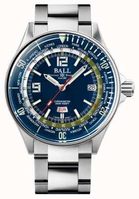 Ball Watch Company Engineer Master II Diver Worldtime | niebieska tarcza | 42mm DG2232A-SC-BE