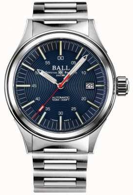 Ball Watch Company Nightbreaker strażak | bransoleta ze stali nierdzewnej | niebieska tarcza | 40mm NM2188C-S13-BE
