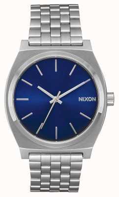 Nixon Licznik czasu   niebieski promień słońca   bransoleta ze stali nierdzewnej   niebieska tarcza A045-1258-00