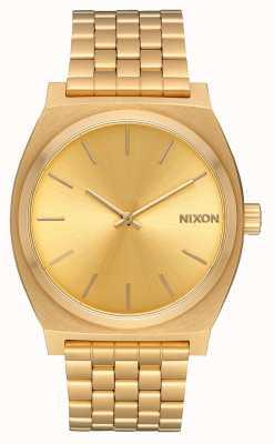 Nixon Licznik czasu | całe złoto / złoto | złota bransoletka ip | złota tarcza A045-511-00
