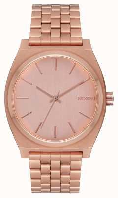Nixon Licznik czasu | całe różowe złoto | bransoletka z różowego złota | tarcza z różowego złota A045-897-00