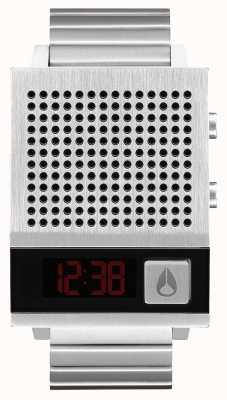 Nixon Dork też   czarny   cyfrowy   bransoleta ze stali nierdzewnej   mówić A1266-000-00