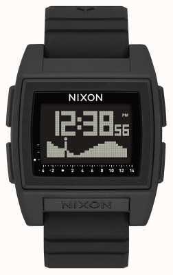 Nixon Podstawowy przypływ pro   czarny   cyfrowy   czarny silikonowy pasek   A1307-000-00