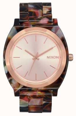Nixon Octan licznika czasu   różowe złoto / różowy żółw   tarcza z różowego złota A327-3233-00
