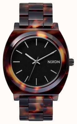 Nixon Octan licznika czasu   żółw   czarna tarcza A327-646-00