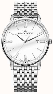 Maurice Lacroix Eliros dla mężczyzn | bransoleta ze stali nierdzewnej | srebrna tarcza EL1118-SS002-113-2