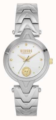 Versus Versace Kobiety v_versus forlanini | bransoleta ze stali nierdzewnej | srebrna tarcza VSPVN0620