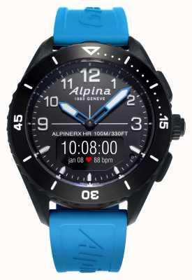 Alpina | alpinerx żyje | niebieski gumowy pasek | AL-284LBBW5AQ6