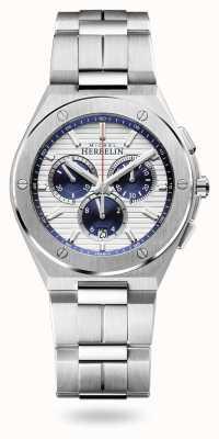 Michel Herbelin Czapka Camarat | chronograf | bransoleta ze stali nierdzewnej | 37645/B42