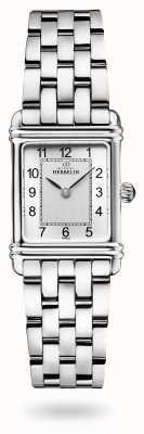Michel Herbelin Art déco | bransoleta ze stali nierdzewnej | srebrna tarcza 17478/22B2