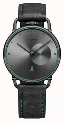 Baume & Mercier Baume | ekologiczny kwarc | szara tarcza | pasek z czarnego korka M0A10599