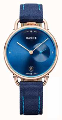 Baume & Mercier Baume | ekologiczny kwarc | pasek z niebieskim korkiem M0A10603