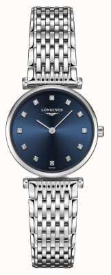 Longines Kobiety | la grande classique | diamentowo-niebieska tarcza | Stal nierdzewna L42094976
