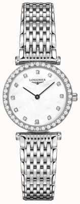 Longines Kobiety | la grande classique | diamentowa biała tarcza | Stal nierdzewna L43410806