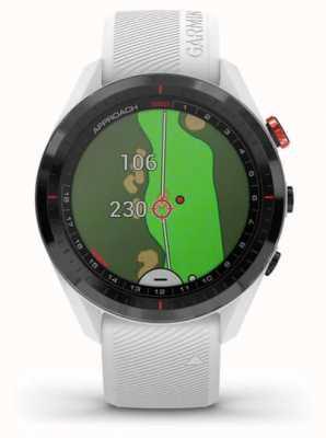 Garmin Podejście s62 | golf | GPS | ceramiczna ramka | biały silikon 010-02200-01
