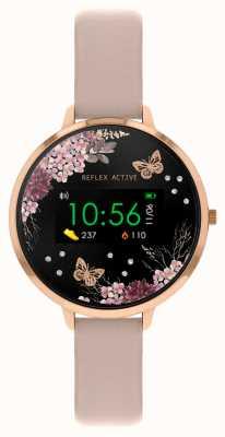 Reflex Active Inteligentny zegarek z serii 3 | różowy pasek RA03-2014