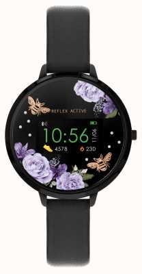 Reflex Active Inteligentny zegarek z serii 3 | czarny pasek RA03-2018
