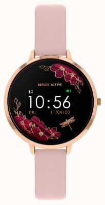 Reflex Active Inteligentny zegarek z serii 3 | różowy pasek RA03-2038