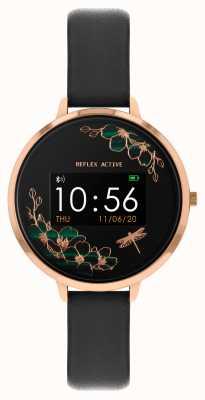 Reflex Active Inteligentny zegarek z serii 3 | czarny pasek RA03-2040