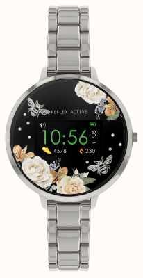 Reflex Active Inteligentny zegarek z serii 3 | bransoleta ze stali nierdzewnej RA03-4007