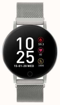 Reflex Active Inteligentny zegarek z serii 5 | monitor hr | kolorowy ekran dotykowy | siatka stalowa RA05-4015