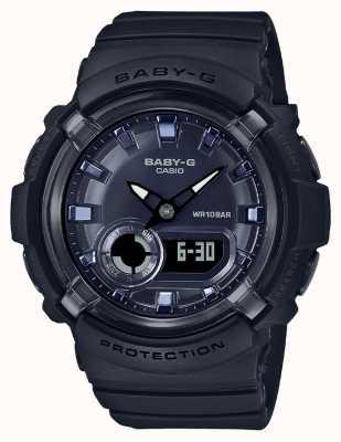 Casio Baby-g | czarny pasek z żywicy | czarna tarcza | BGA-280-1AER