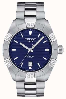 Tissot Pr100 sport | niebieska tarcza | bransoleta ze stali nierdzewnej T1016101104100