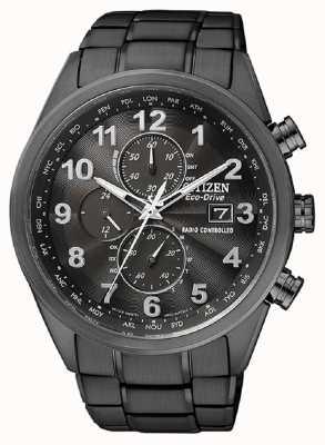 Citizen Męski zegar światowy eco-drive o godz AT8105-53E