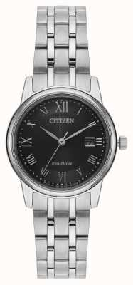 Citizen Damska srebrna bransoletka eco-drive EW2310-59E