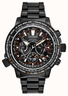 Citizen Limitowana edycja dla mężczyzn eco-drive z falą satelitarną CC7015-55E