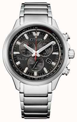 Citizen Męski chronograf z super tytanowym napędem eco-drive AT2470-85E