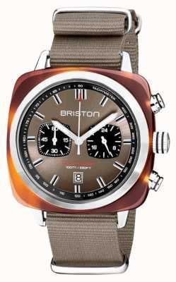 Briston | clubmaster sport | octan | taupe | 20142.SA.TS.30.NT