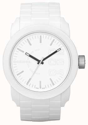 Diesel Unisex biały zegarek wybierania DZ1436
