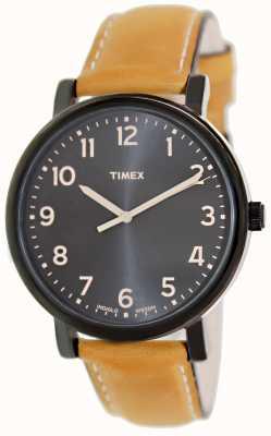 Timex Klasyczny zegarek Ez Reader tan strap T2N677