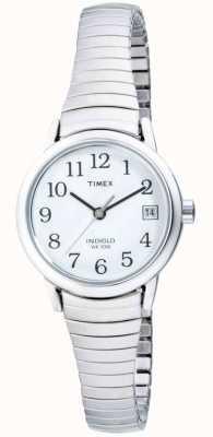 Timex Rozszerzony zegarek ze stali nierdzewnej T2H371